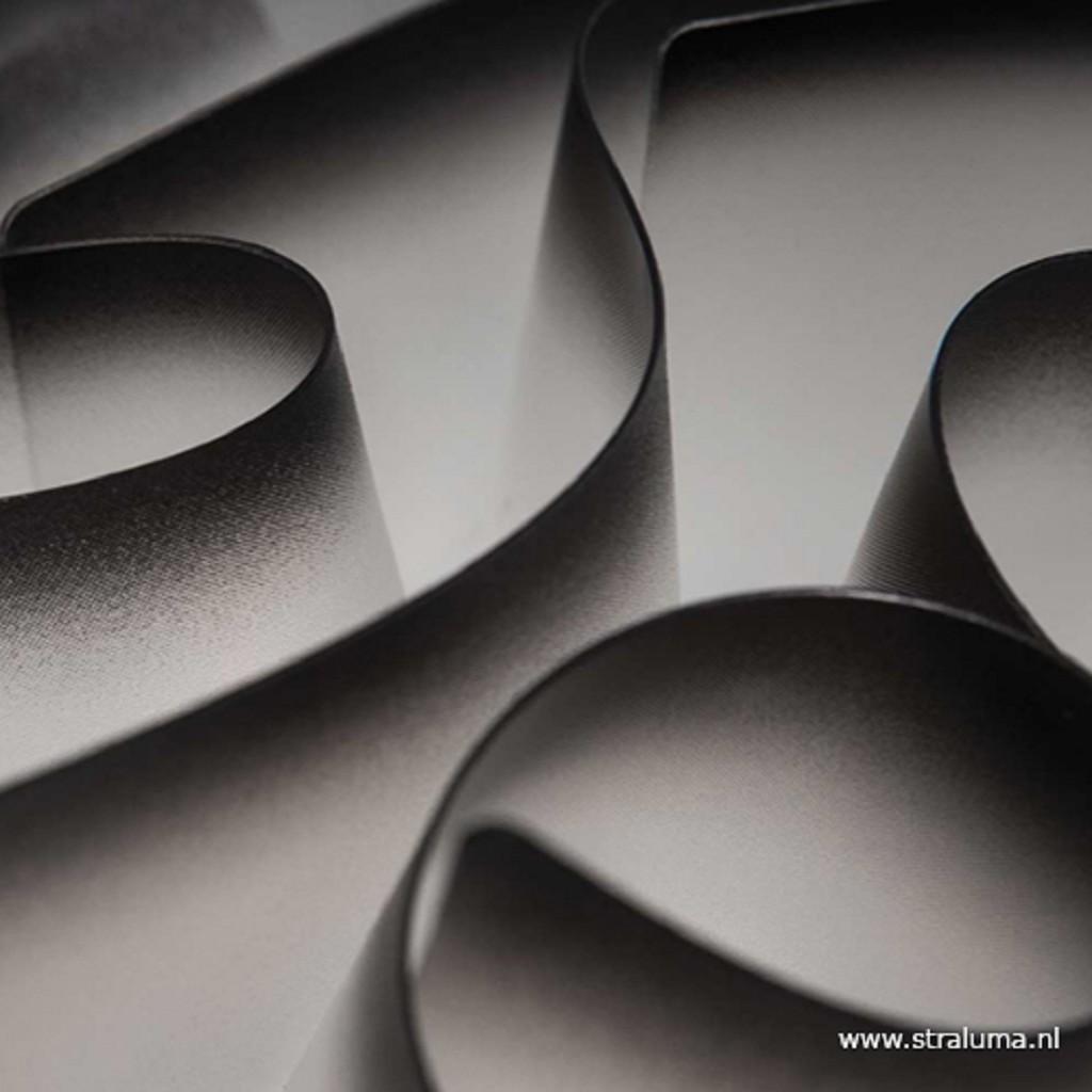 Design wand/plafondlamp Veli charcoal