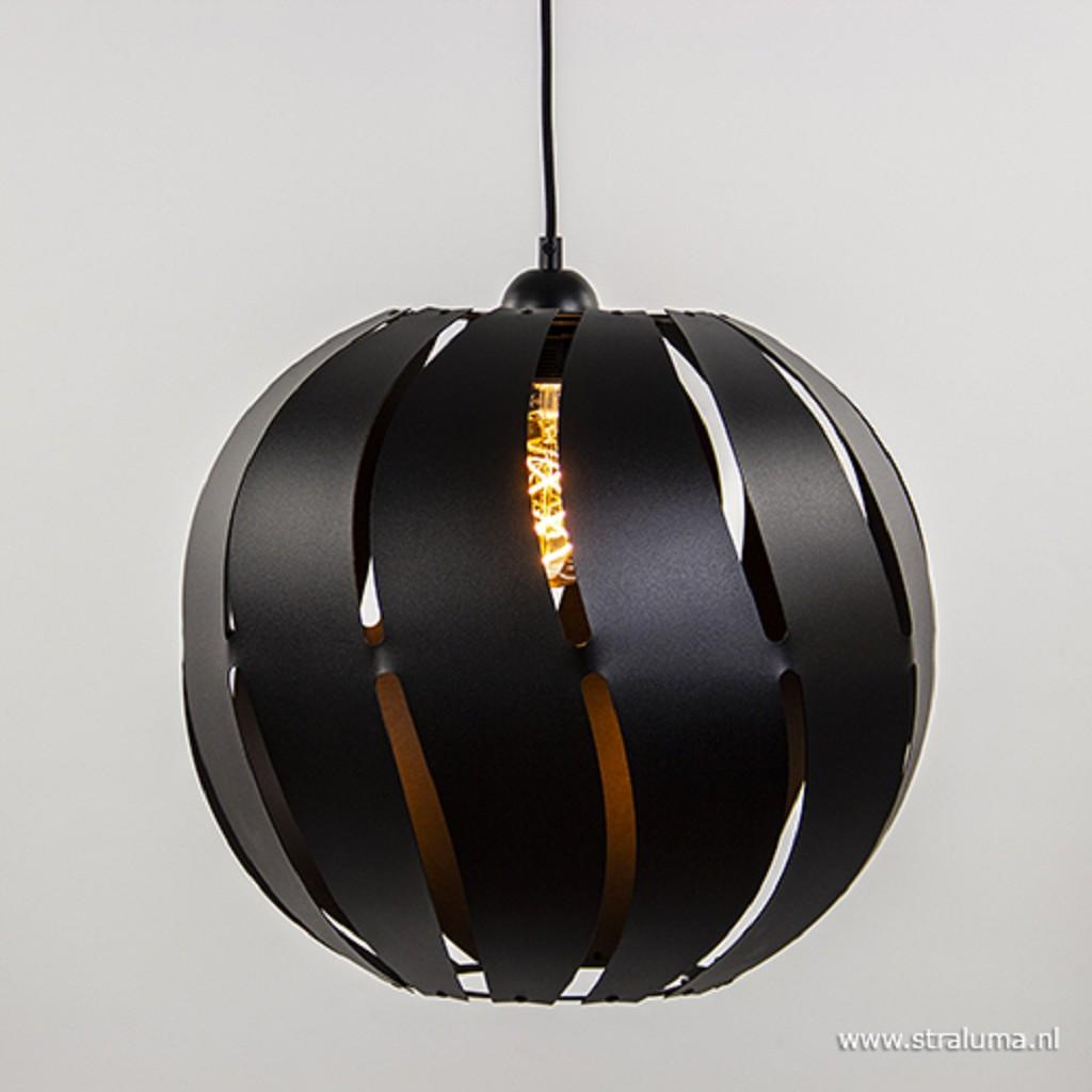 Grote zwarte hanglamp bol metaal