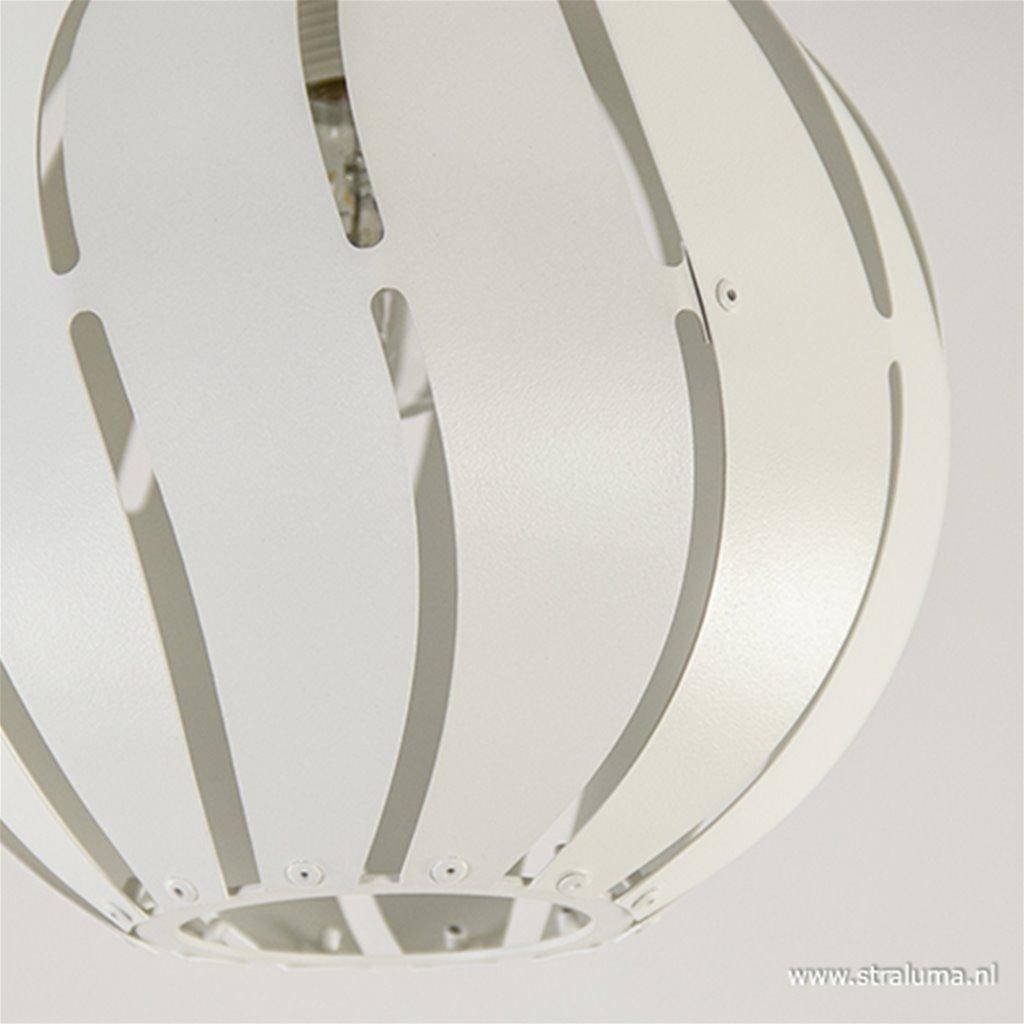 Kleine plafondlamp bol wit toilet/hal