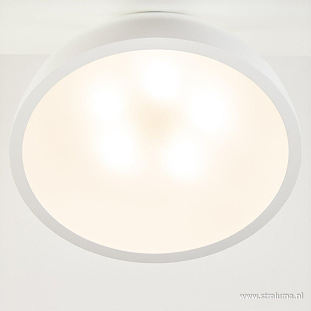 Grote witte plafonnière XL