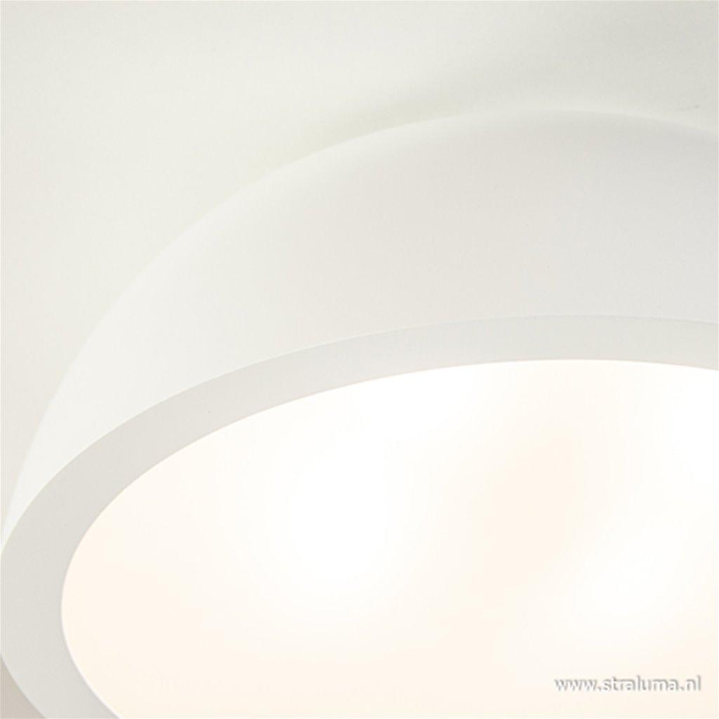 Plafonnière rond wit 50cm