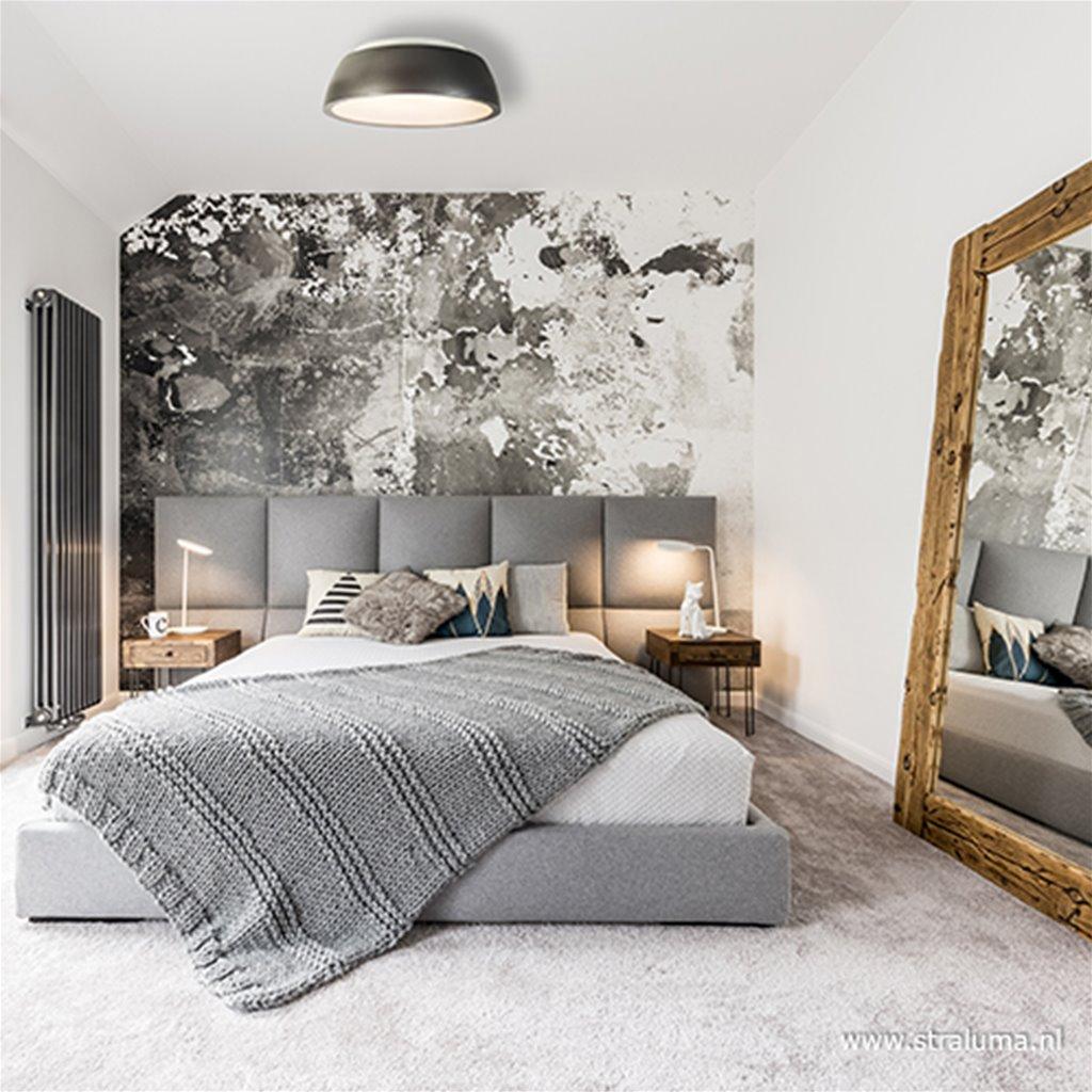 Plafondlamp grijs 50cm