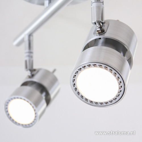 Moderne LED spot Natasja aluminium