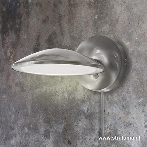 Moderne LED wandlamp-spot met dimmer
