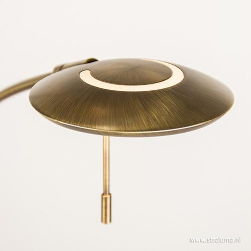 Klassieke vloerlamp Zenith LED Brons