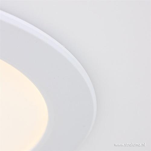 Witte moderne plafonnière remote