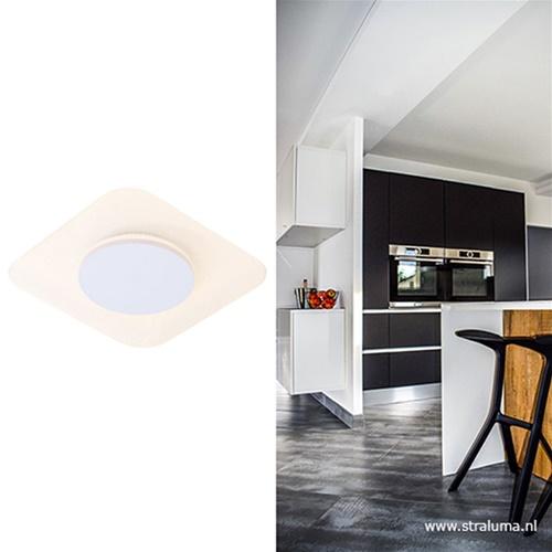 Plafondlamp led vierkant 29cm indirect