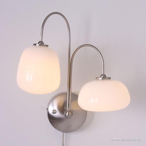 Moderne LED wandlamp Bollique dimbaar