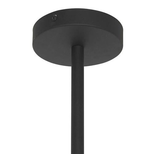 Retro 4-lichts hanglamp met verstelbare kappen