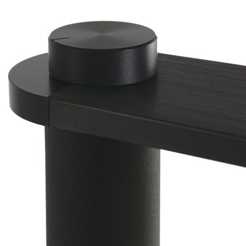 Moderne LED bureaulamp zwart dimbaar en verstelbaar