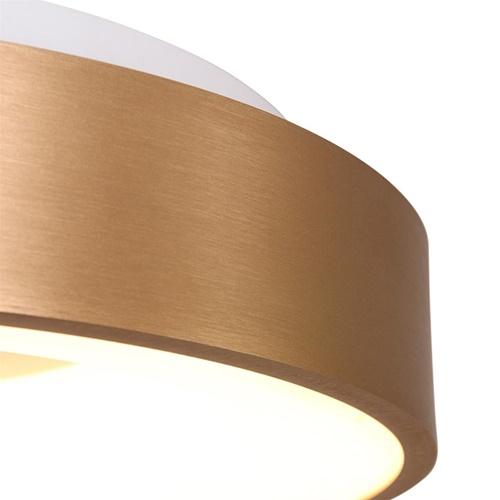Grote plafondlamp goud 48 cm inclusief LED