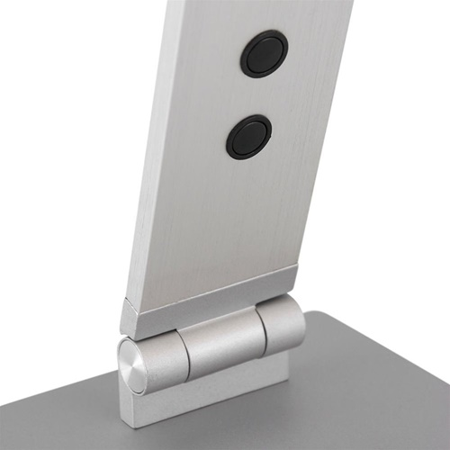 Moderne LED bureaulamp geborsteld staal verstelbaar