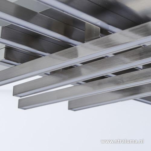 Moderne plafondlamp deco led woonkamer straluma - Deco moderne woonkamer ...