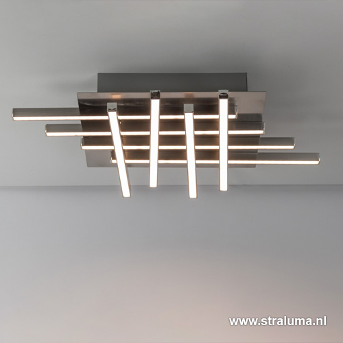 Moderne plafondlamp Deco LED woonkamer | Straluma