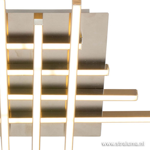 Moderne plafondlamp deco led woonkamer straluma - Deco eigentijds ...