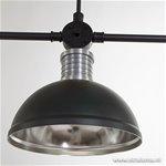 **Industriële hanglamp eettafel 3-lichts