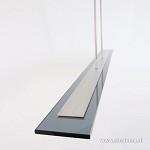 *LED hanglamp smoke glas 140 cm dimbaar