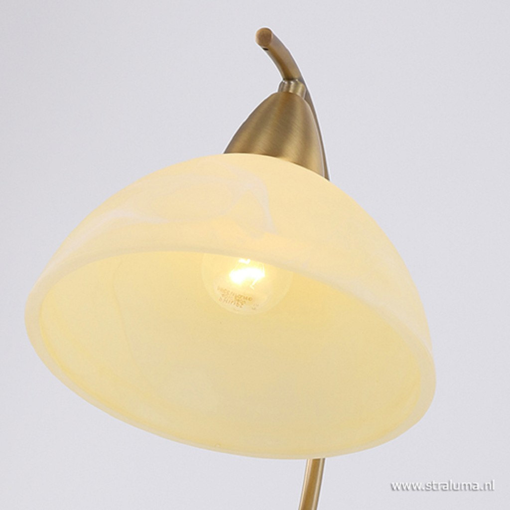 **Romantische Tafellamp Burgundy 5423BR
