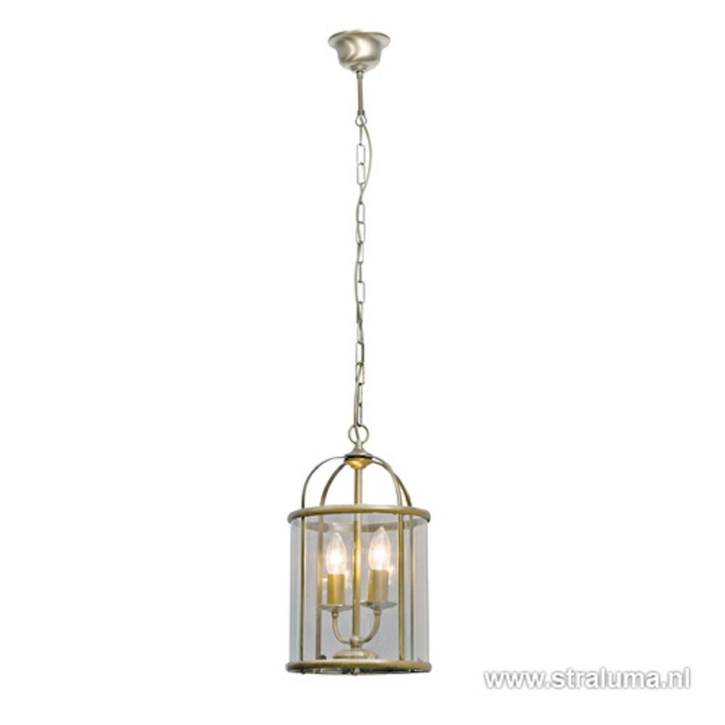 Hanglamp Pimpernel brons/Glas 5971BR