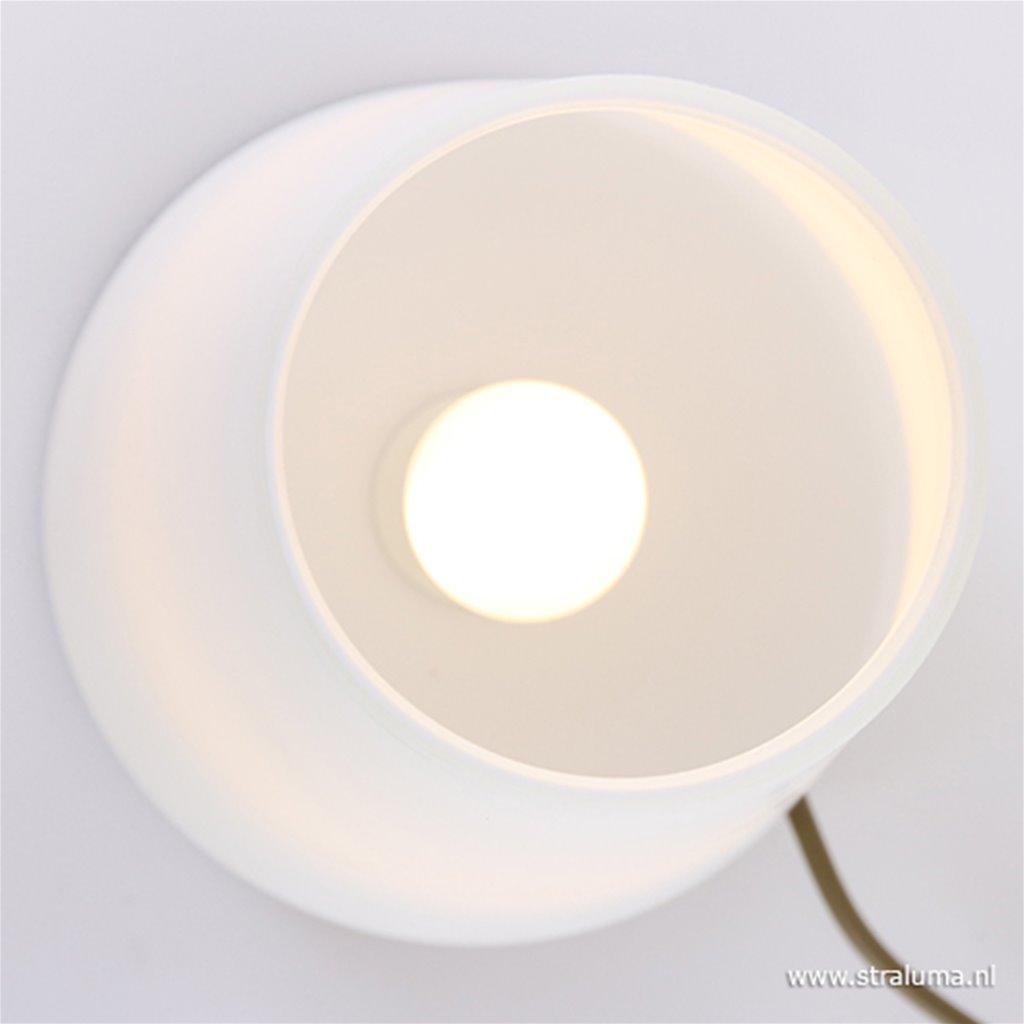 Tafellamp Ancilla brons Glas 6934BR