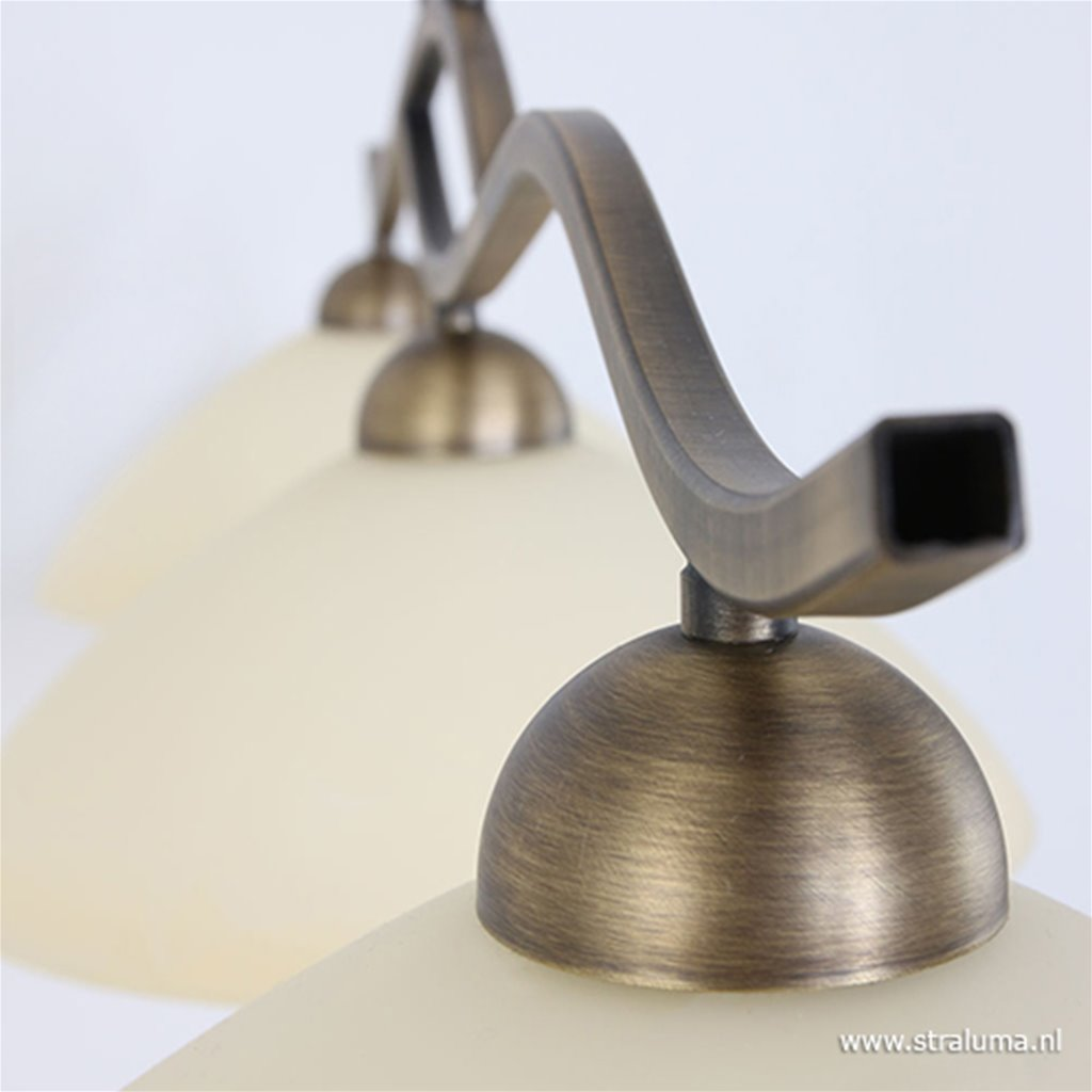 Hanglamp Capri brons/Glas 6837BR