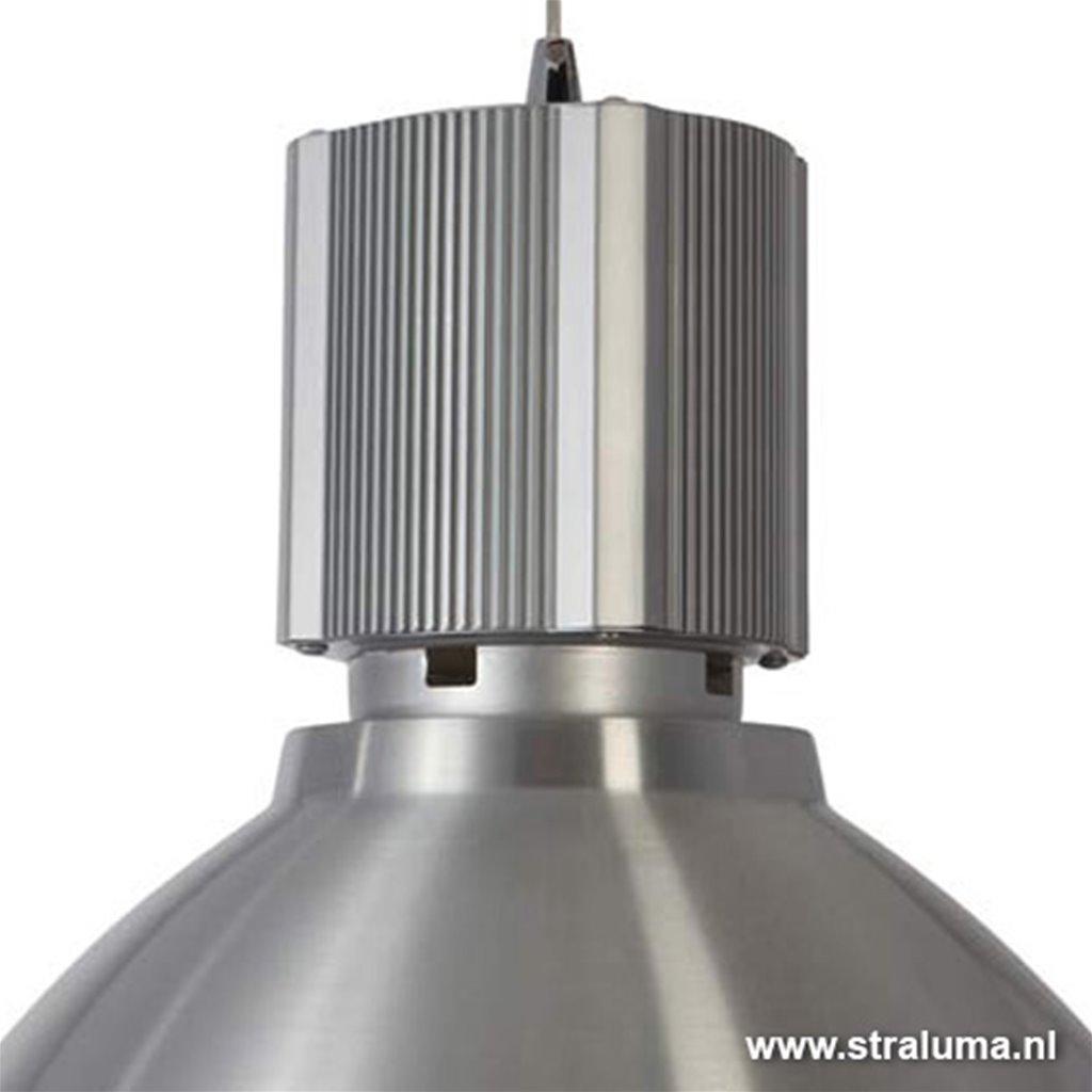 Hanglamp Warbier industrieel aluminium
