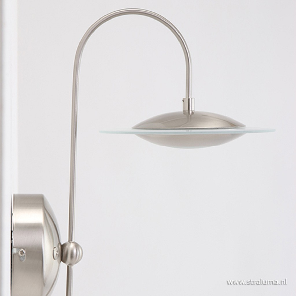 Moderne wandlamp staal LED Zelena