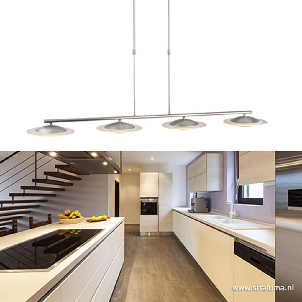 Hanglamp Zelena nikkel/glas