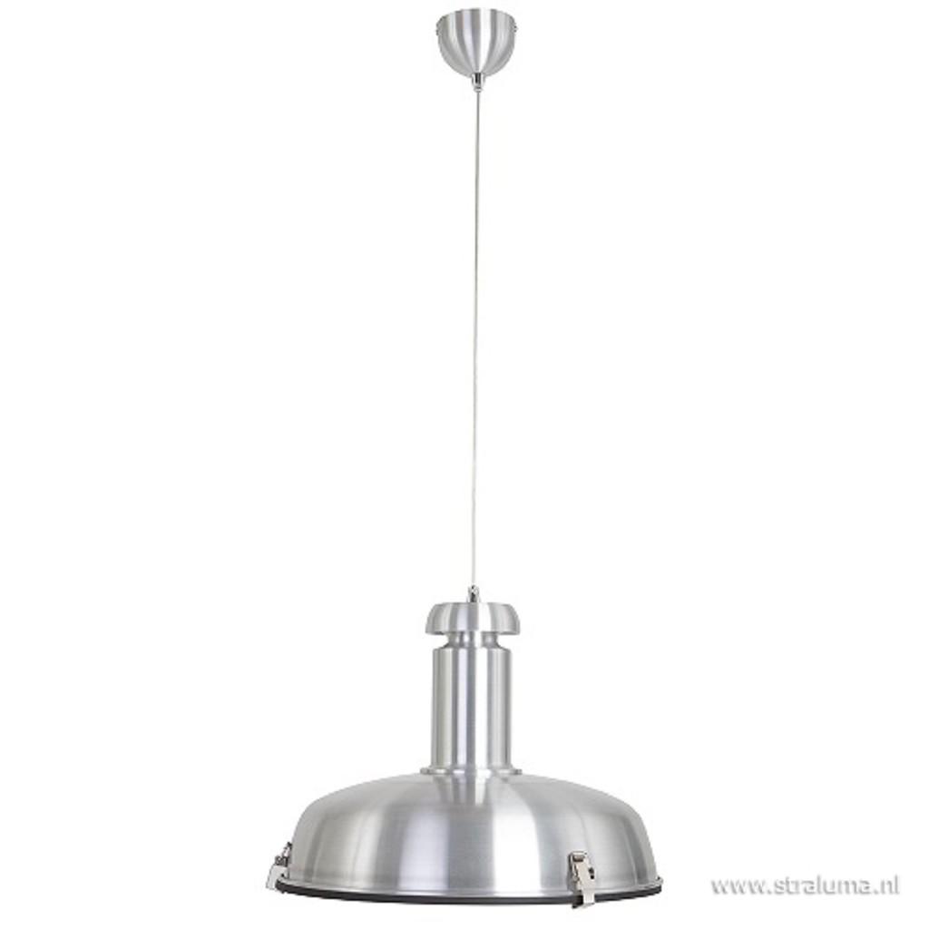 Industriele hanglamp Arjuna staal