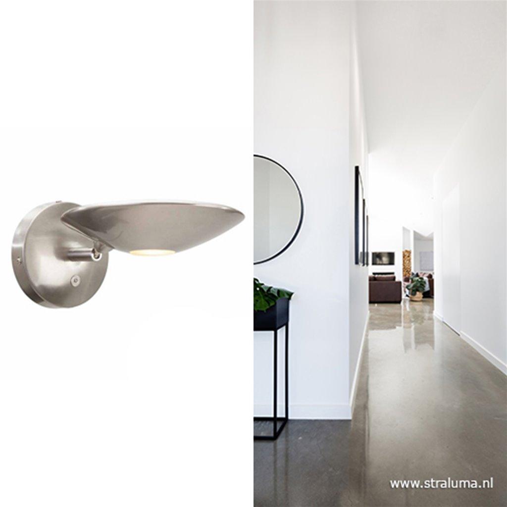 *Moderne wandlamp Tamara LED dimbaar