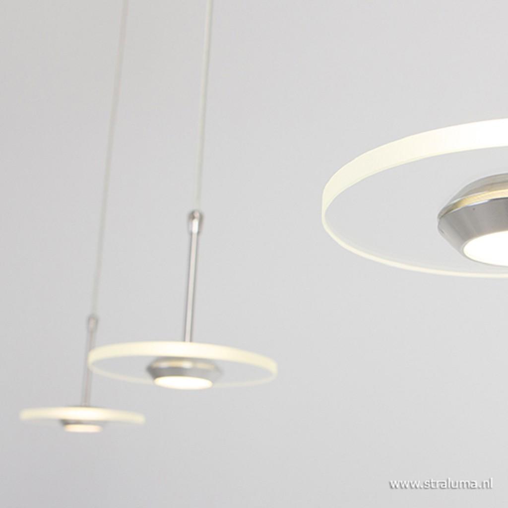 **Moderne hangl. Santander LED eettafel
