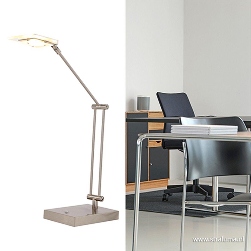 **Moderne bureaulamp LED verstel-dimbaar