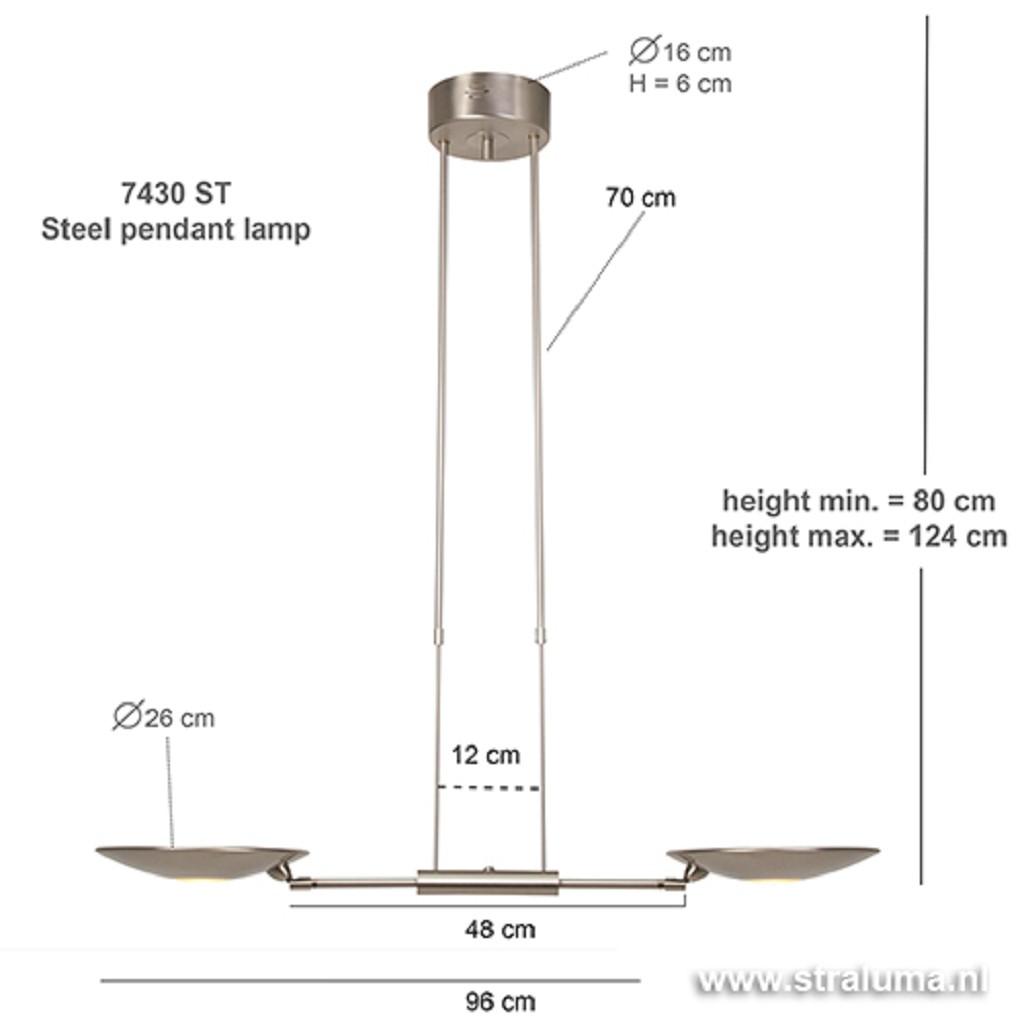 *Moderne hanglamp LED eetkamertafel