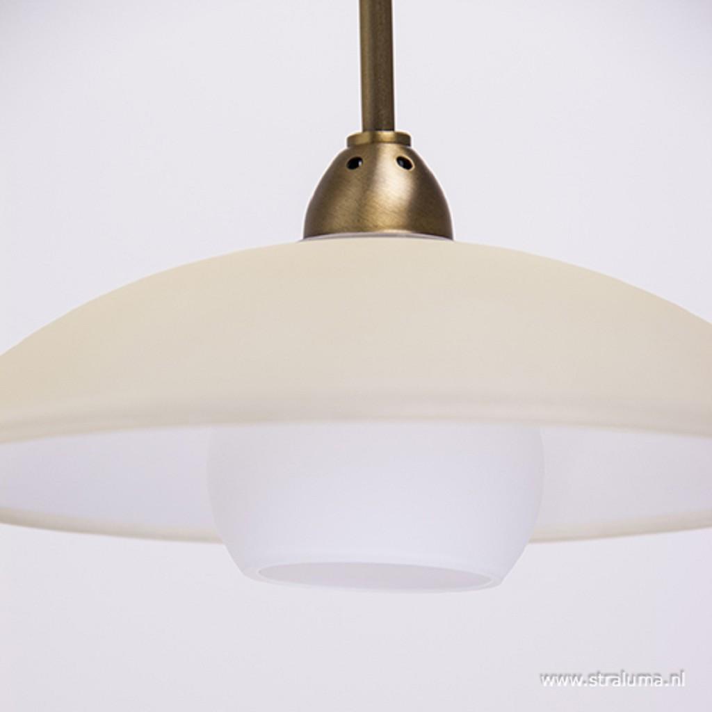 Sierlijke wandlamp Monarch LED brons