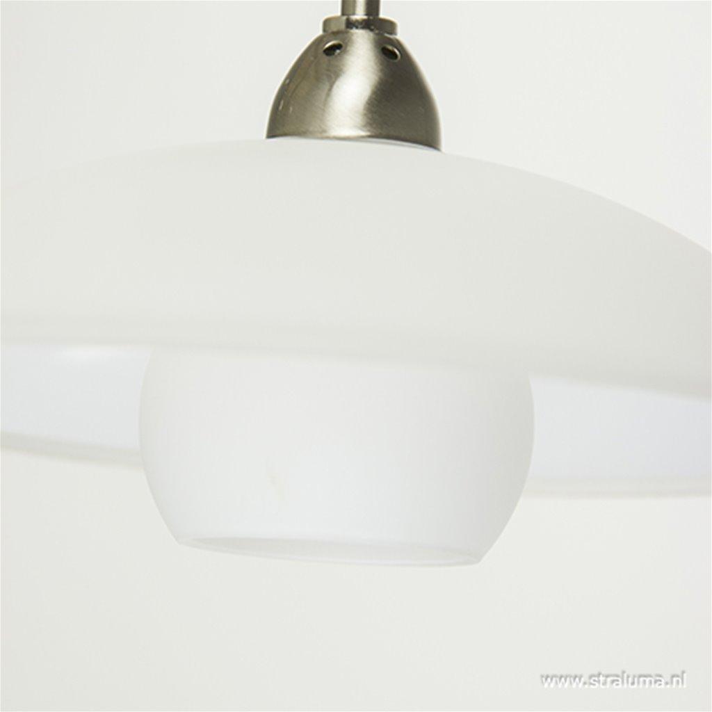 Stalen LED wandlamp inclusief dimmer