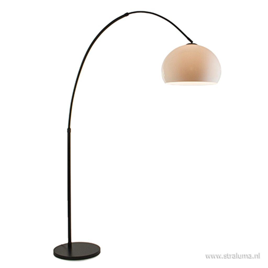 Losse witte kunststof kap voor booglamp