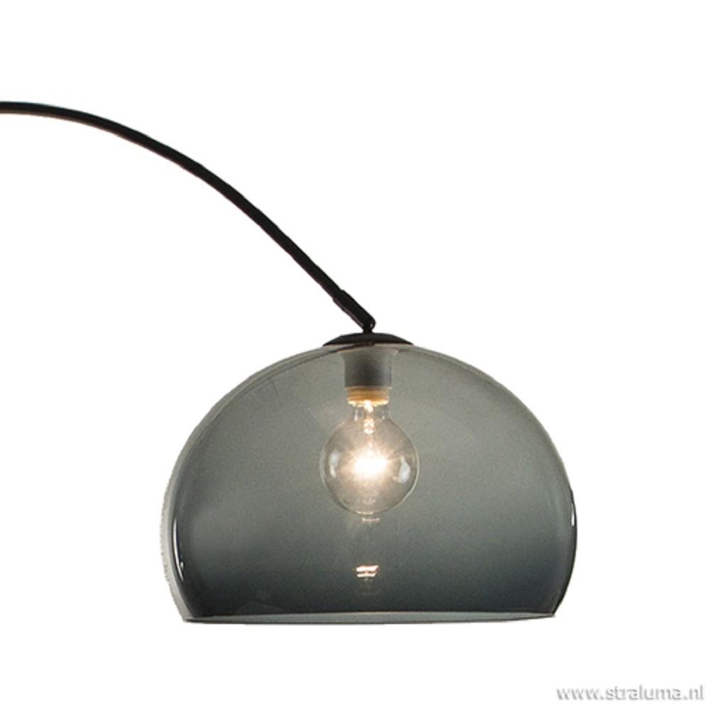 Grijze kap plexibol exclusief booglamp