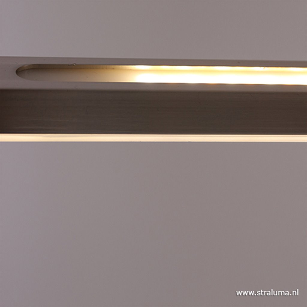 Dimbare LED hanglamp zwart 150 cm