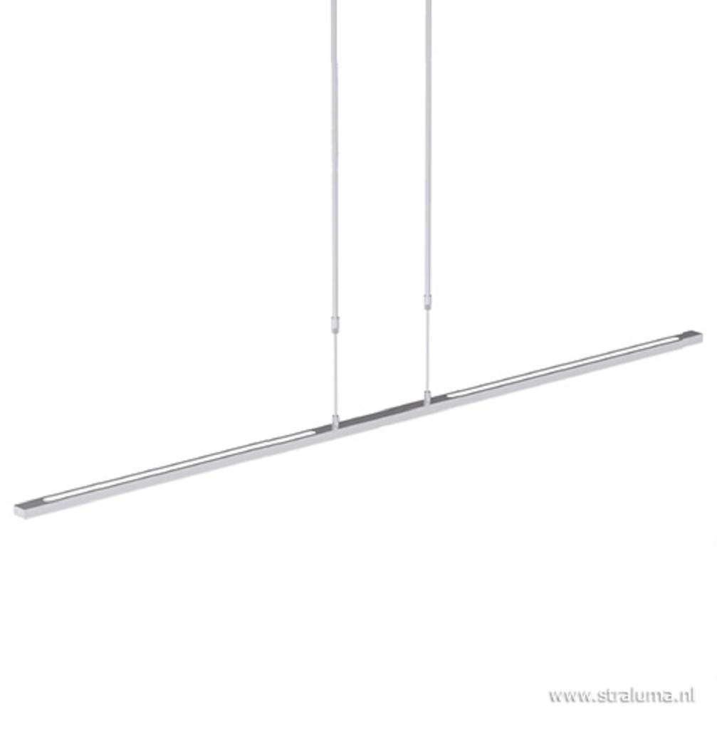 Stalen hanglamp balk 150 cm LED dimbaar