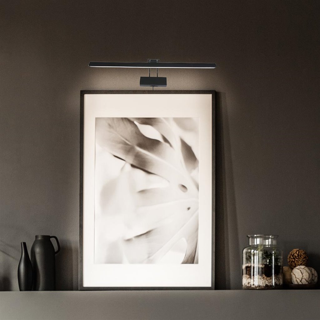 Moderne LED wandlamp schilderij 60 cm