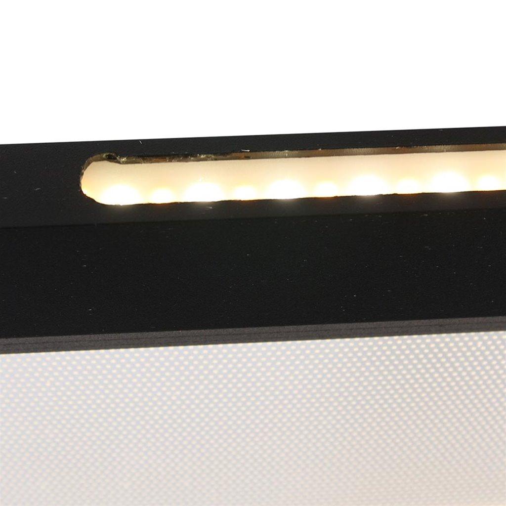 Strak moderne hanglamp LED balk