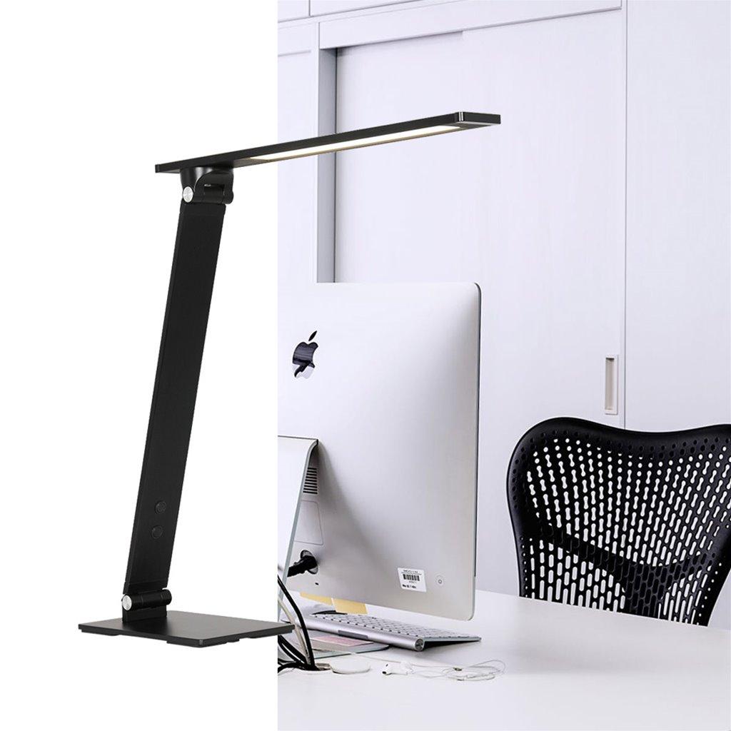 Moderne LED bureaulamp zwart dimbaar