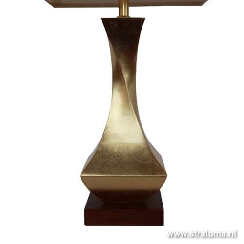 Klassieke stijlvolle tafellamp Goud