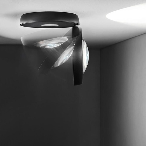 LED plafondspot Nautilus chroom verstelbaar