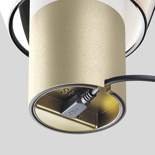 Oplaadbare LED tafellamp Easy Peasy Lagoon