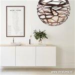 **Hanglamp Kelly Sphere brons 40cm