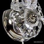 * Mooie wandlamp Maria Theresa 2-lichts