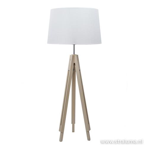 scandinavische driepoot vloerlampkap