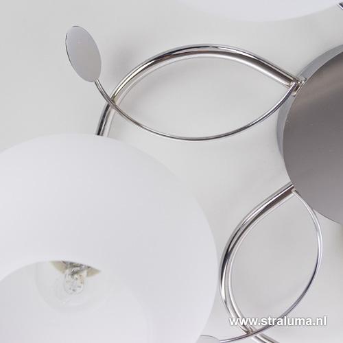 strak klassieke plafondlamp slaapkamer straluma