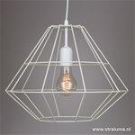 *Scandinavische witte hanglamp Diamond